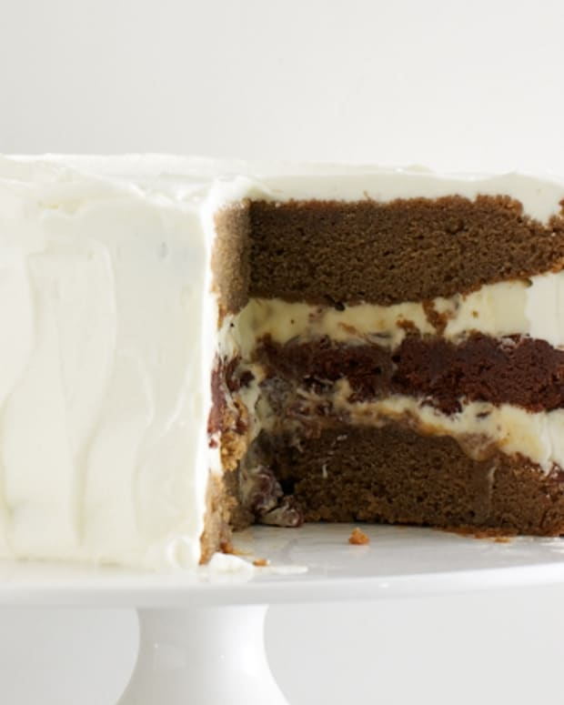 VANILLA MOCHA LATTE LAYER CAKE