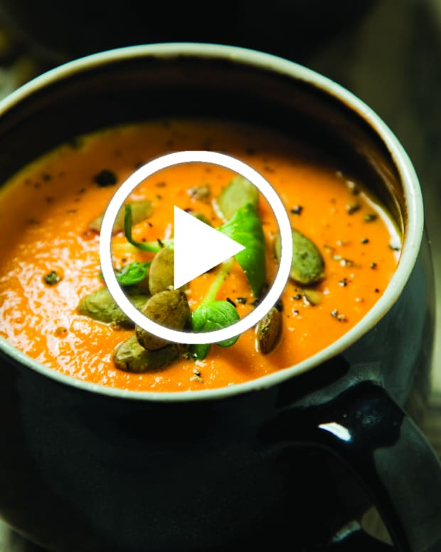 carrot gazpacho video