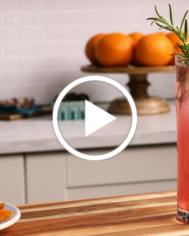 Hello Cocktail video with rosemary