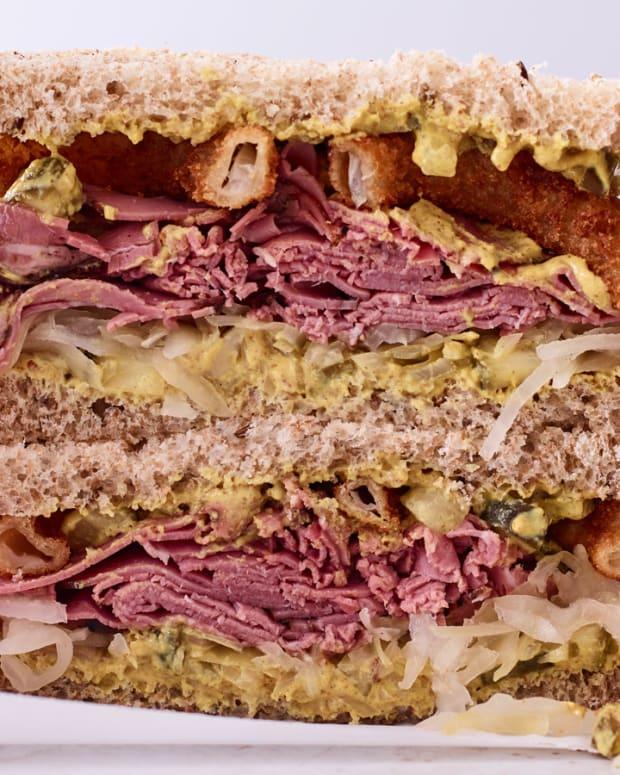 Reubenesque Sandwich