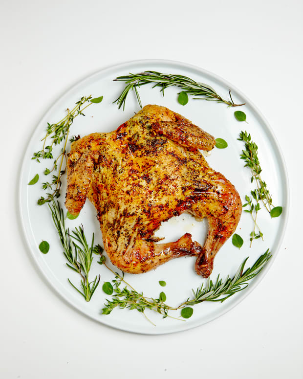 Dry Brined Spatchcocked Chicken -The Best