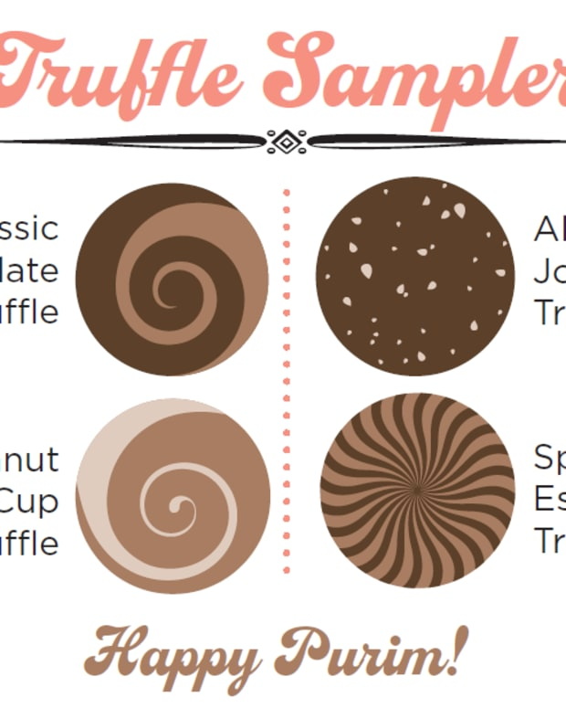 truffle sampler card