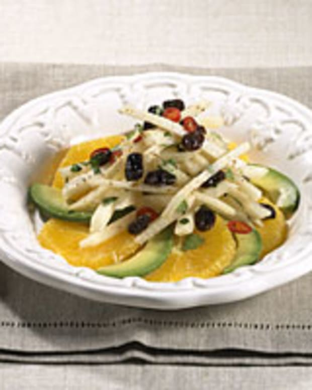 Jícama, Avocado and Orange Salad