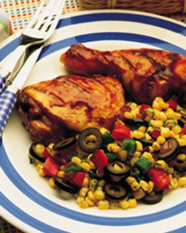 Southwestern Pan-Seared Corn