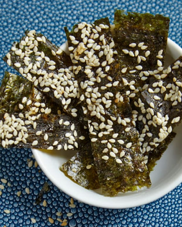 Honey Sesame Nori Chips