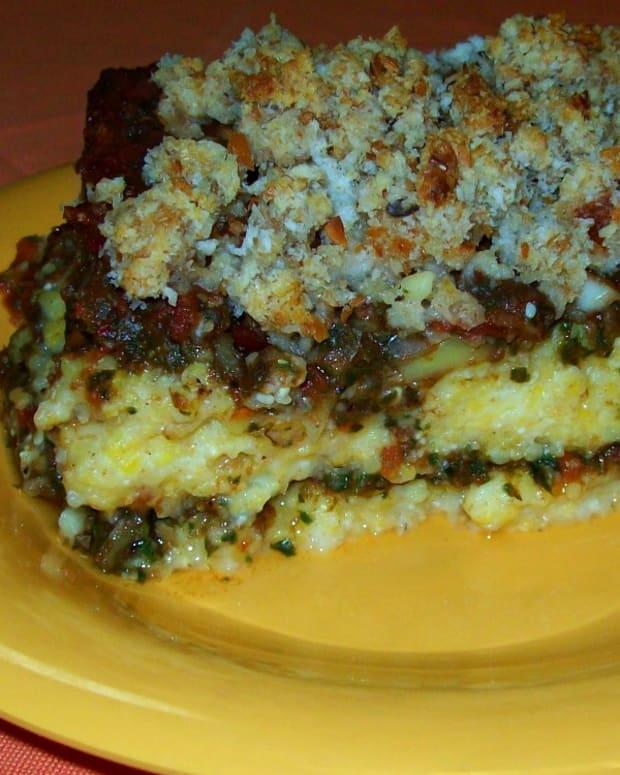 polenta-casserole