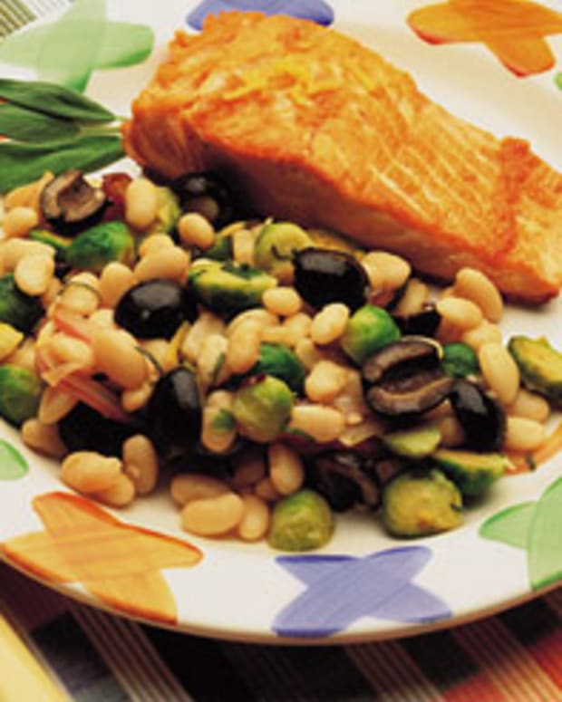 Warm White Bean Salad