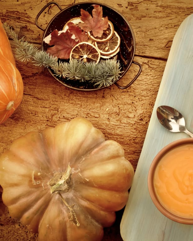 ethnic pumpkin soup