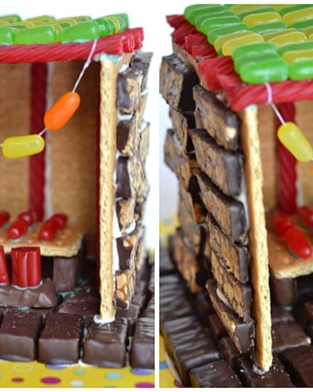 Candy Sukkah Collage for Joy of Kosher