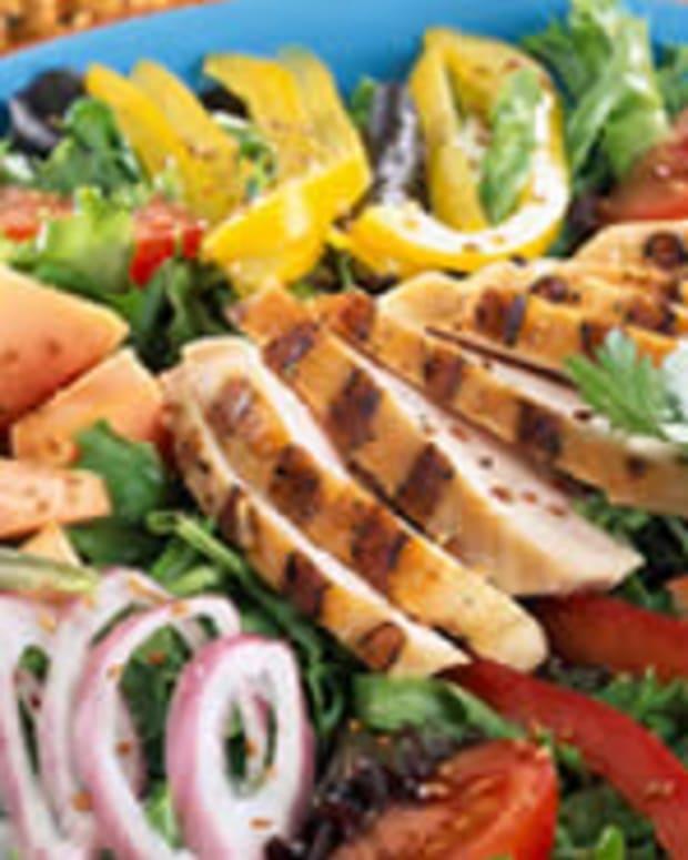 Grilled Chicken Caribe Salad