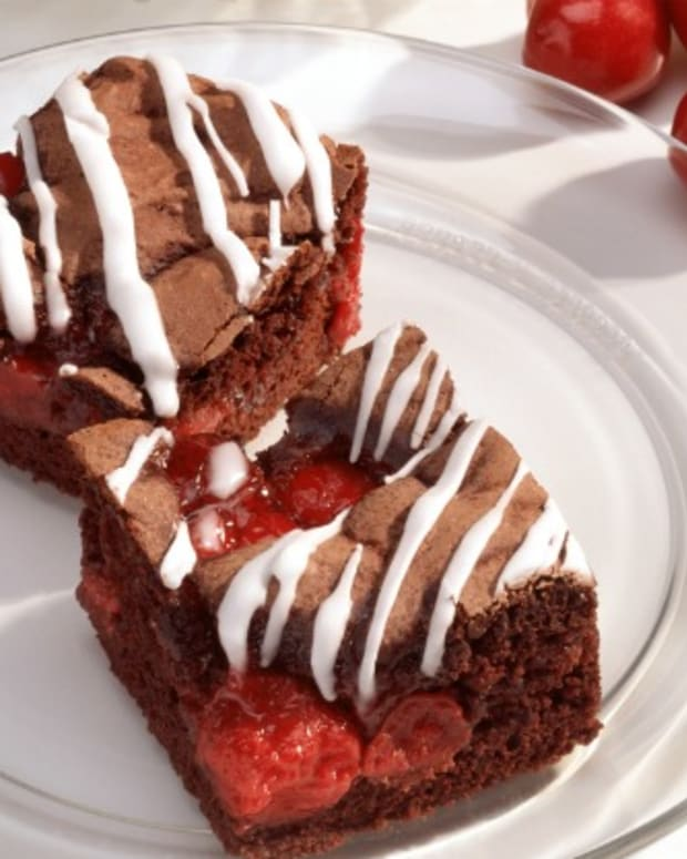 cherry jubilee brownie