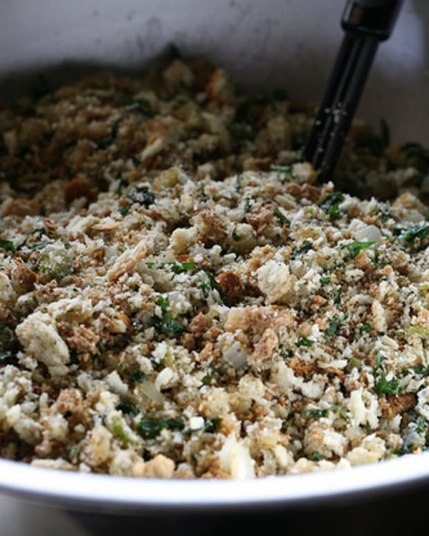Bread Stuffing or Dressing