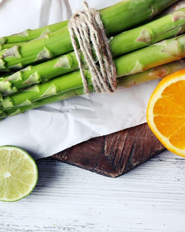 Asparagus and Citrus Salad