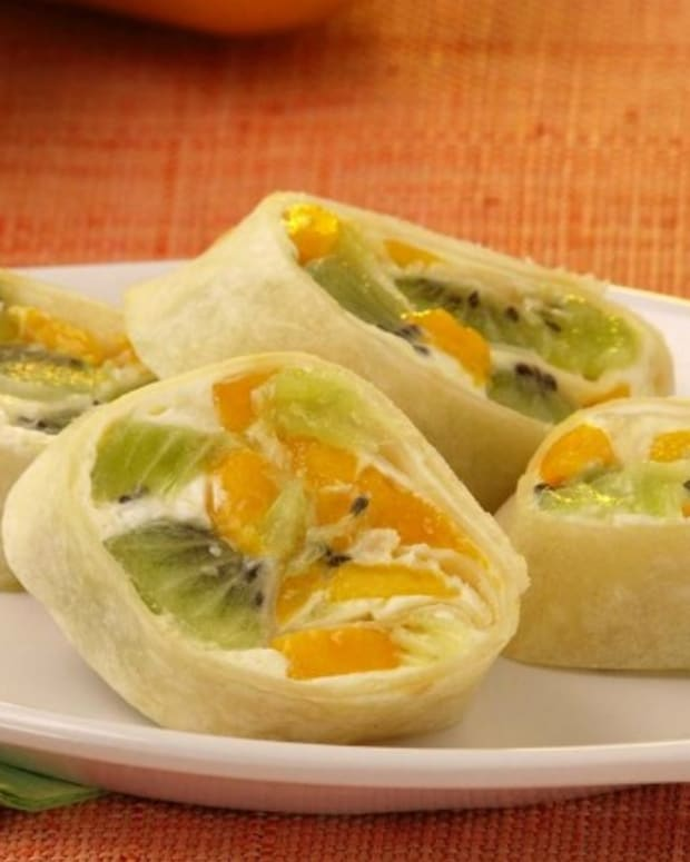 Fruity Mango Roll Ups