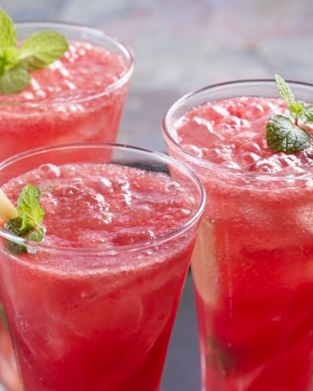 Watermelon Cherry Mojito