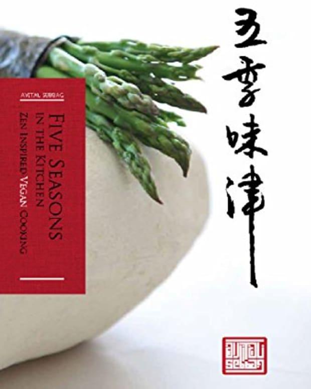 Five Seasons Vegan Cookbook Cover