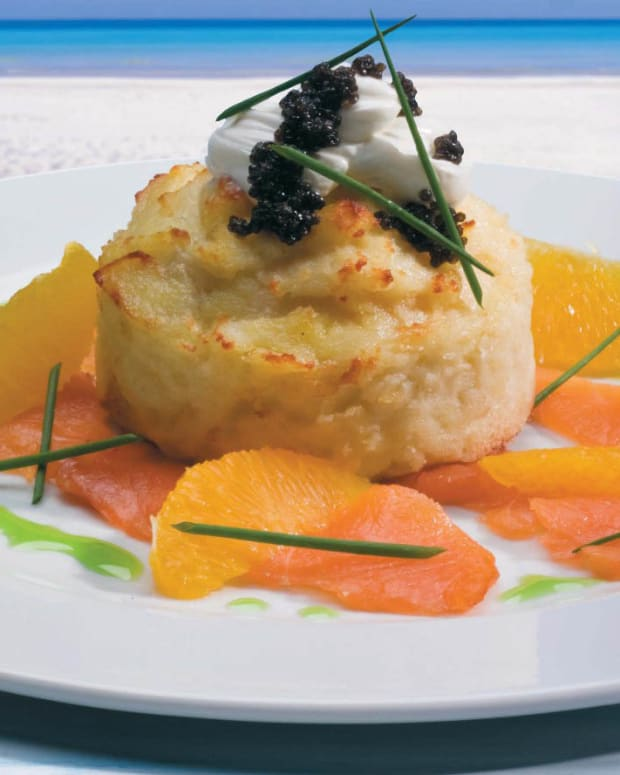 idaho potato souffle