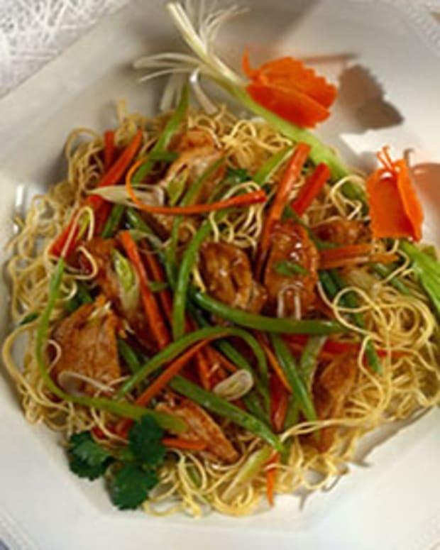 Shanghai Turkey Stir-Fry