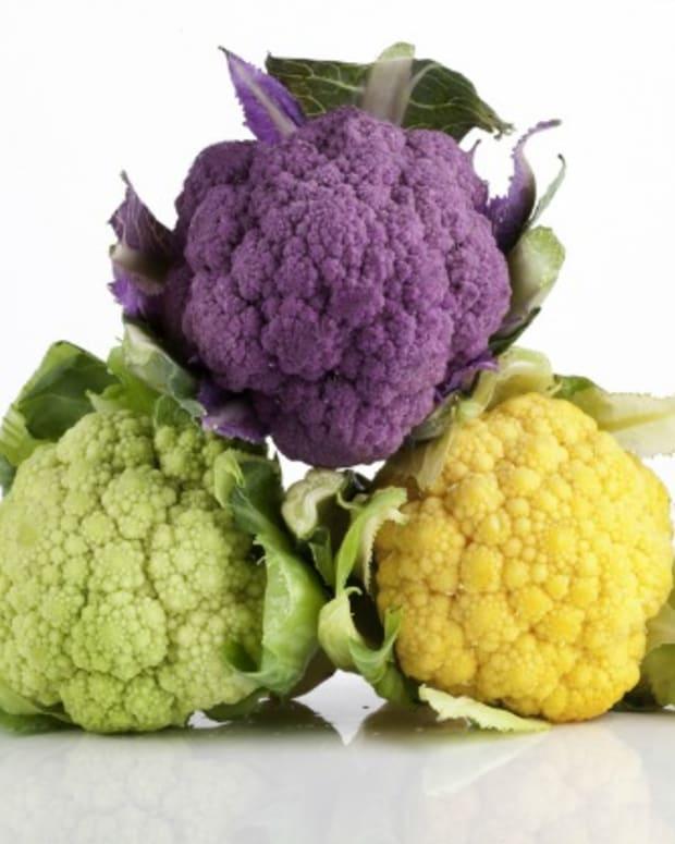 types of cauliflower