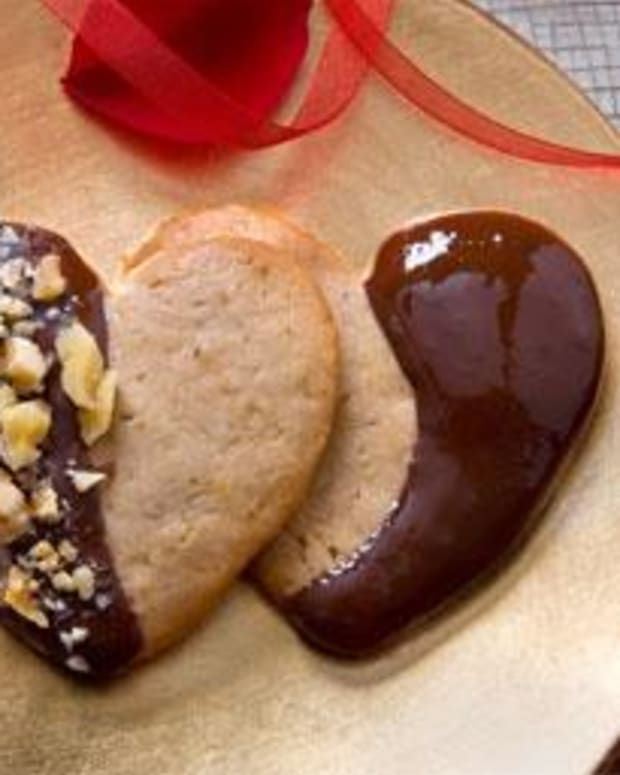Cream Cheese Walnut Wafer Cookies