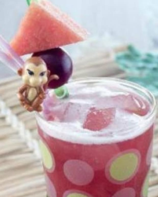 Watermelon Grape Fizz