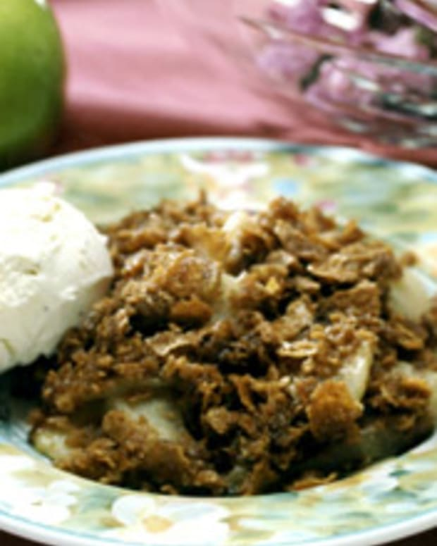 Cinnamon Apple Crisp w/Crushed Wheat Topping