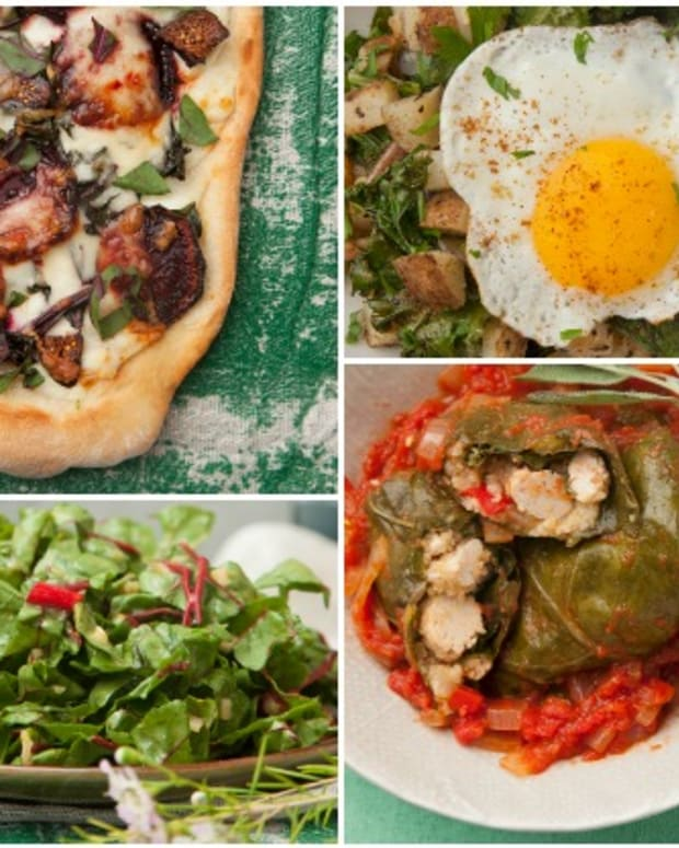 winter greens recipes