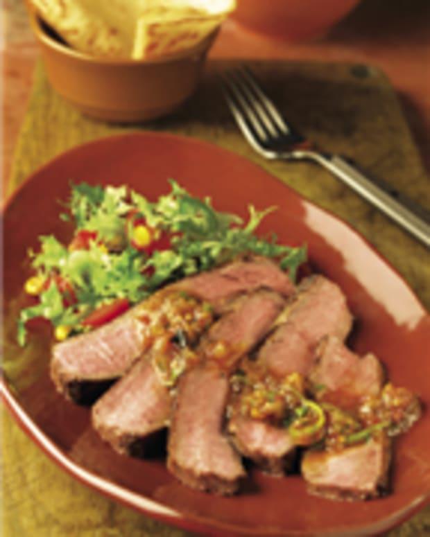Chipotle Salsa Steak