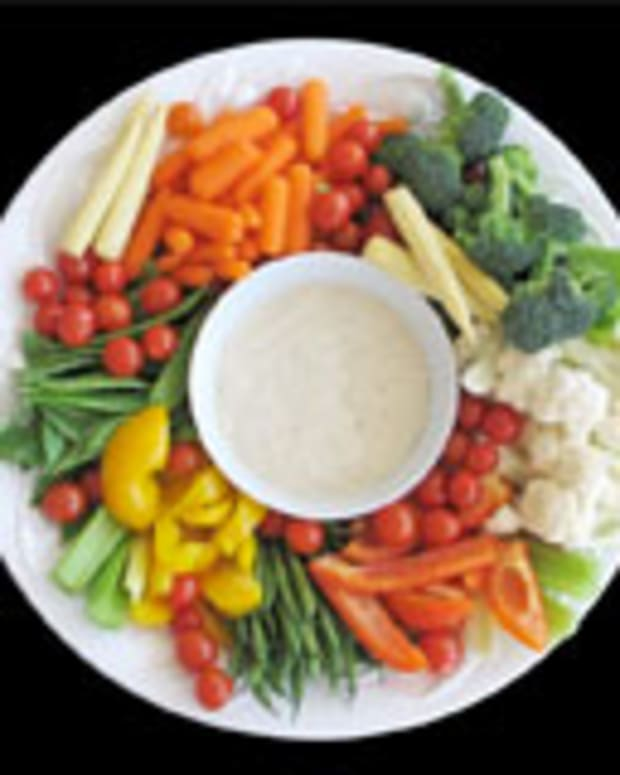 Crunchy Vegetable Dip