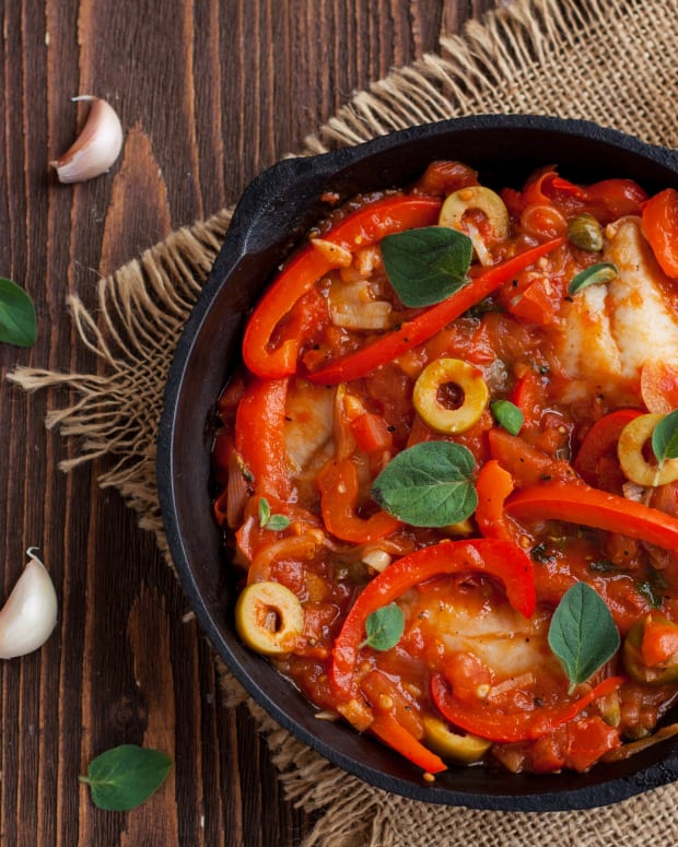 TILAPIA FISH IN SPICY TOMATO SAUCE