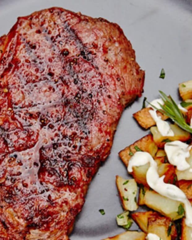 grille steak
