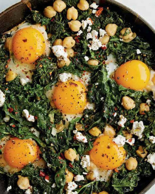 GREEN EGGS & GARBANZOS