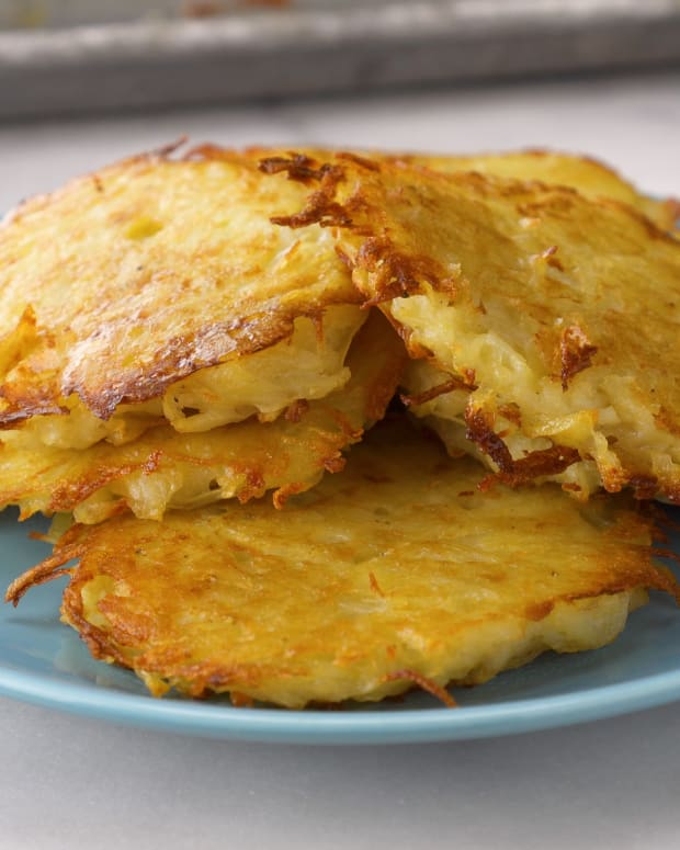 Sheet Pan Frying Oven Fried Latkes