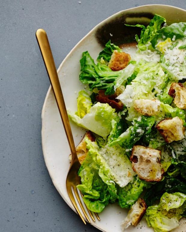Fish Sauce Caesar Salad