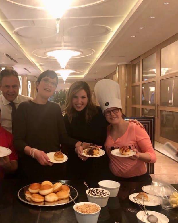 Waldorf Shalva Chanukah Donuts