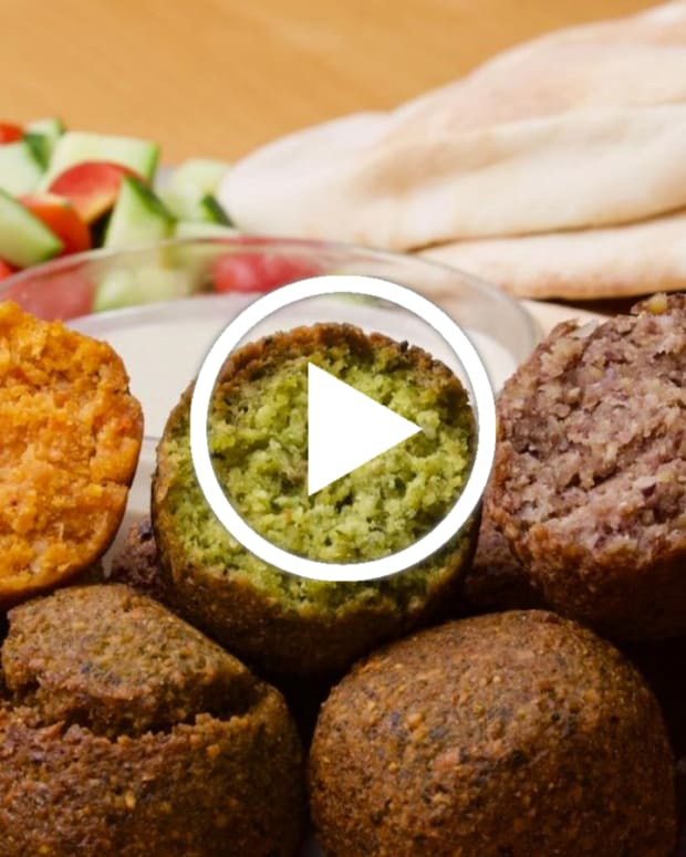 Tri Color Falafel Featured