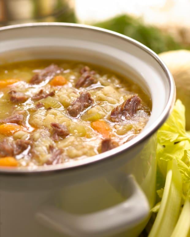 (Soups) beef porridge