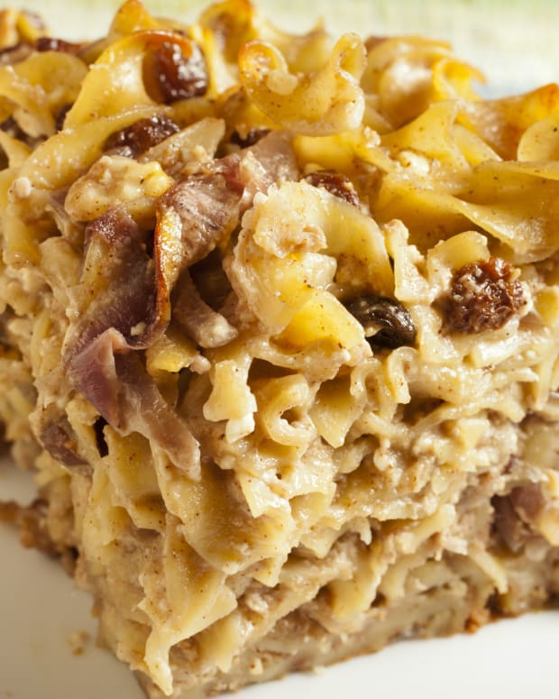 Honey Noodle Kugel