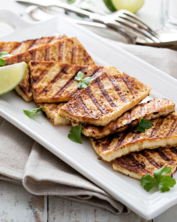 Grilled Tofu with Jerusale Mixed Grill Seasoning