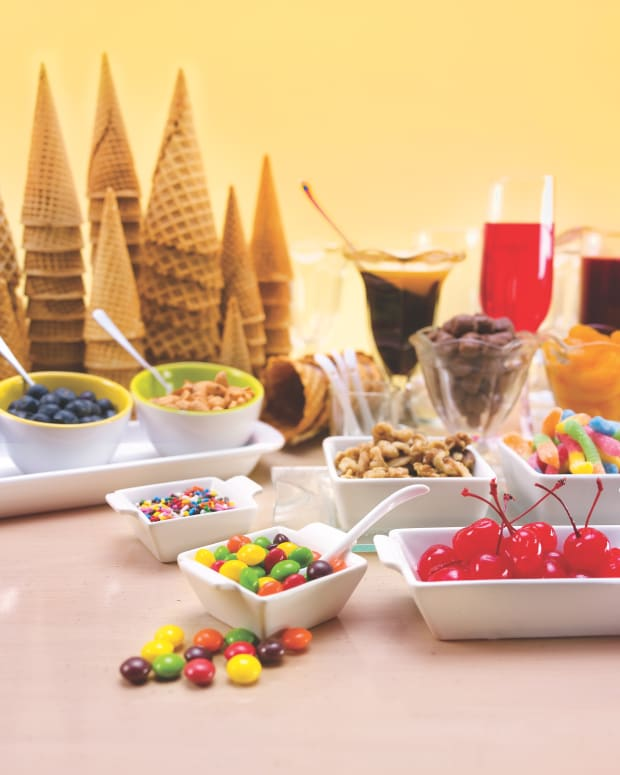 Ice Cream Party spread