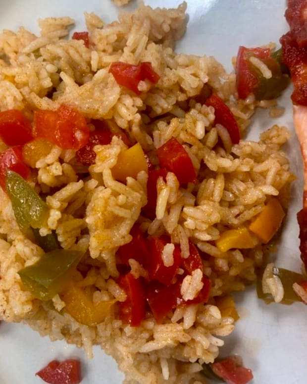 "3 Ingredient ""Spanish"" Oven Rice"