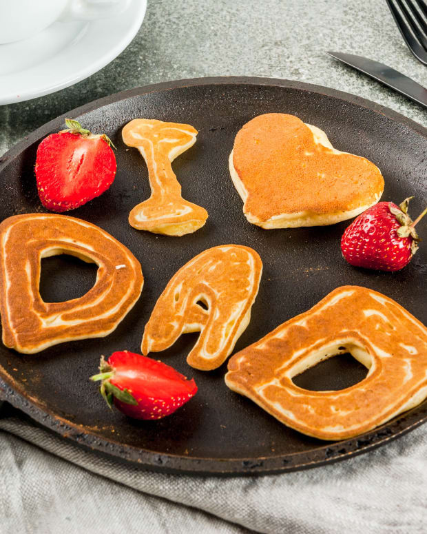 I love Dad Pancakes