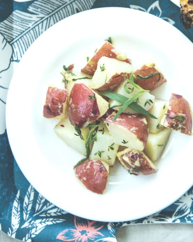 Lemon Tarragon Potato Salad