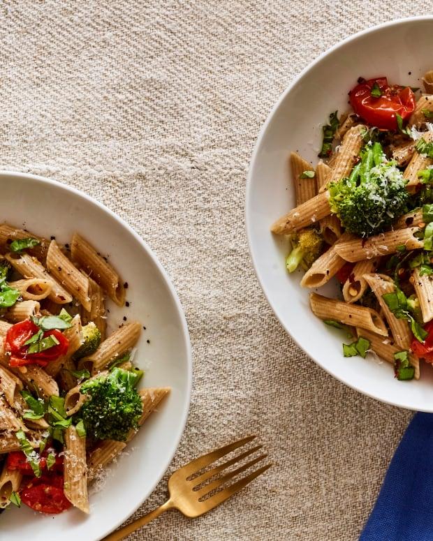 quick pasta with broccoli pasta in a flash