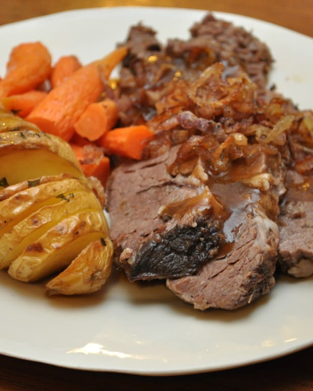 brisket with carrots and potatoes