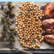 sheet pan harissa chicken wings dinner
