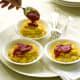 polenta stuffed with mozzarella
