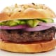 BBQ Beef Burger with Quick Pickles