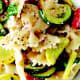 Summer Squash Bowtie Pasta