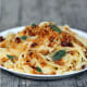 Buttered Linguine with Brown Butter and Sage